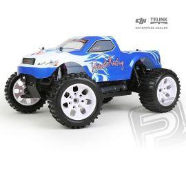 HiMOTO Monster Truck EMXT-1 1:10 elektro RTR set 2,4GHz modrá