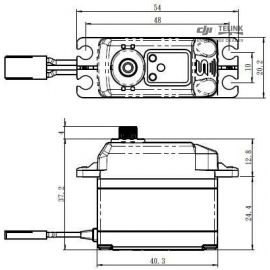 SV-1270TG HI VOLT digitální servo