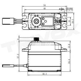 SV-1271SG HI VOLT digitální servo