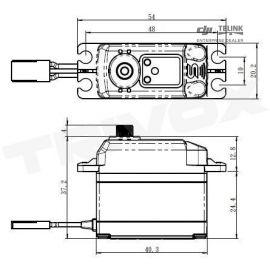 SV-1272SG HI VOLT digitální servo