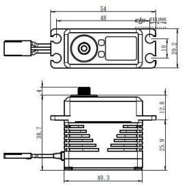 SB-2292SG BRUSHLESS HI VOLT Digitální servo