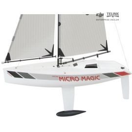 "Plachetnice MICRO MAGIC racing ""Tuning verze"" - stavebnice"