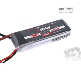 G4 RAY Li-Po 860mAh/7,4 30/60C Air pack