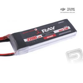 G4 RAY Li-Po 2200mAh/7,4 30/60C Air pack