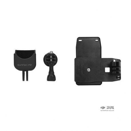 """Univerzální otočný adaptér se 1/4"""" závitem + spona (OSMO Pocket)"""