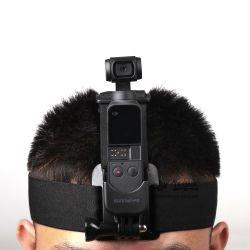 Drřák OSMO Pocket na hlavu