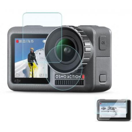 Osmo Action - Ochrana displejů a objektivu kamery