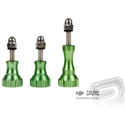 Osmo Action - Hliníkové šrouby zelené (3ks)