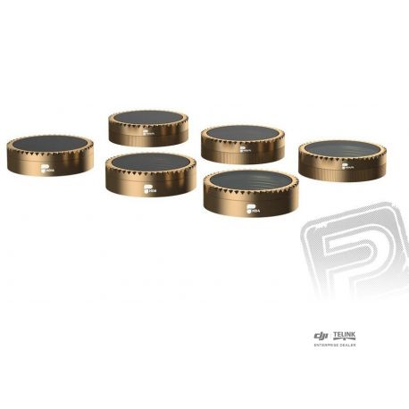MAVIC AIR - sada filtrů CINEMA ND4/PL, ND8/PL, ND16/PL (AR-CS-6PACK)