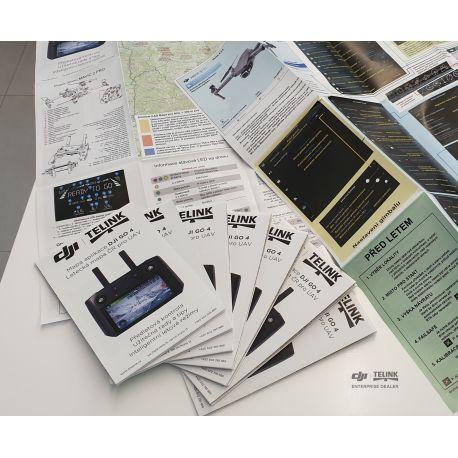 mapa DJI GO4 (Mavic Air)/ letecká mapa