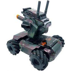 Robomaster S1 - barevné polepy (Camouflage M01)