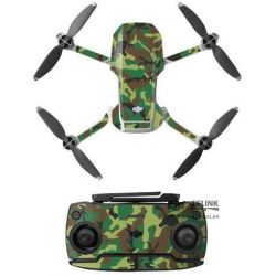MAVIC MINI - Camouflage Sticker (Green)