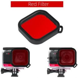 Insta360 ONE R - 4K / 1-INCH Wide Angle Dive Case Lens Filter (Red)