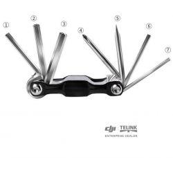 7 v 1 kompaktní nástroje (Černá)